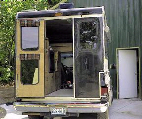 vans ballistic half cab k5